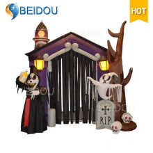 Inflables Halloween Decoraciones Partido Halloween Inflatable Haunted House