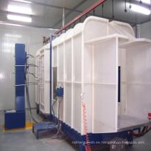 Recubrimiento en polvo con ahorro de energía, cabina de Sraying para máquina de recubrimiento