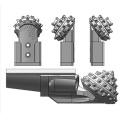 Hard formation single rock cone bit/single cutter tricone drill bit