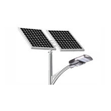 La calle solar al aire libre ligera solar de 65 vatios llevó luces