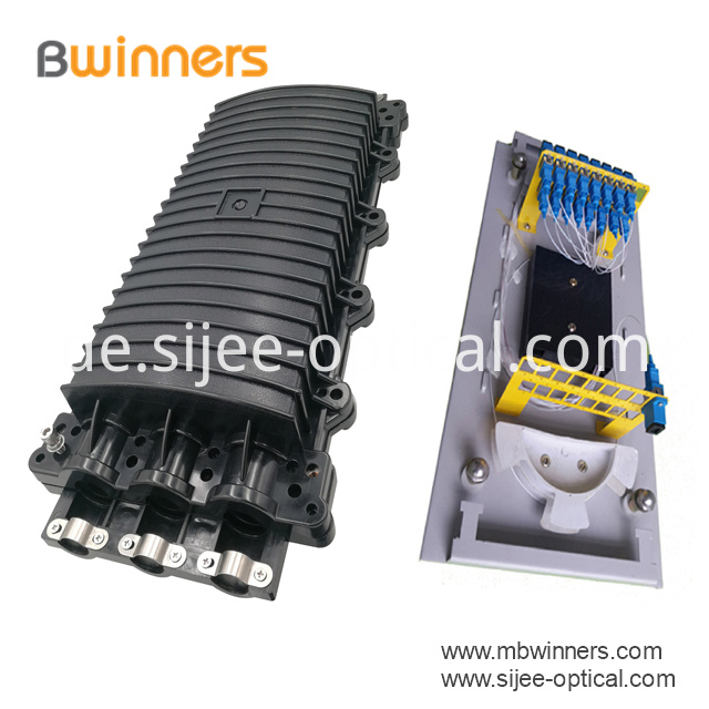 Fiber Optic Splice Closure Plc Splitter