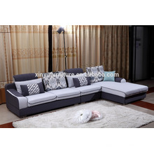 new design wooden living room sofa with colorful cover KW9101