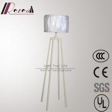 Высокое качество Quadupod Белый железо стоящий этаж лампы