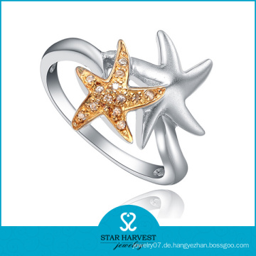 Exraodinary Silver Jewelry 2tones Plated (SH-R0039)