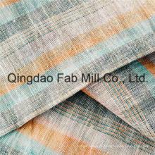 Colorido 100% tecido de malha de linho (qf16-2503)
