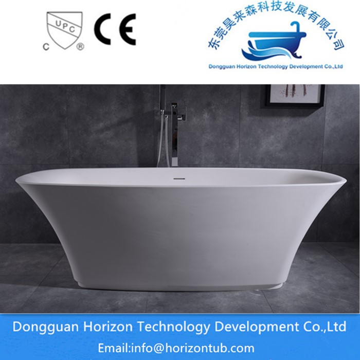 Stone Resin Freestanding Bath