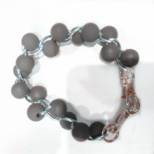 Hight Quality Luxury Silicone Bead Wristband From Manufacture