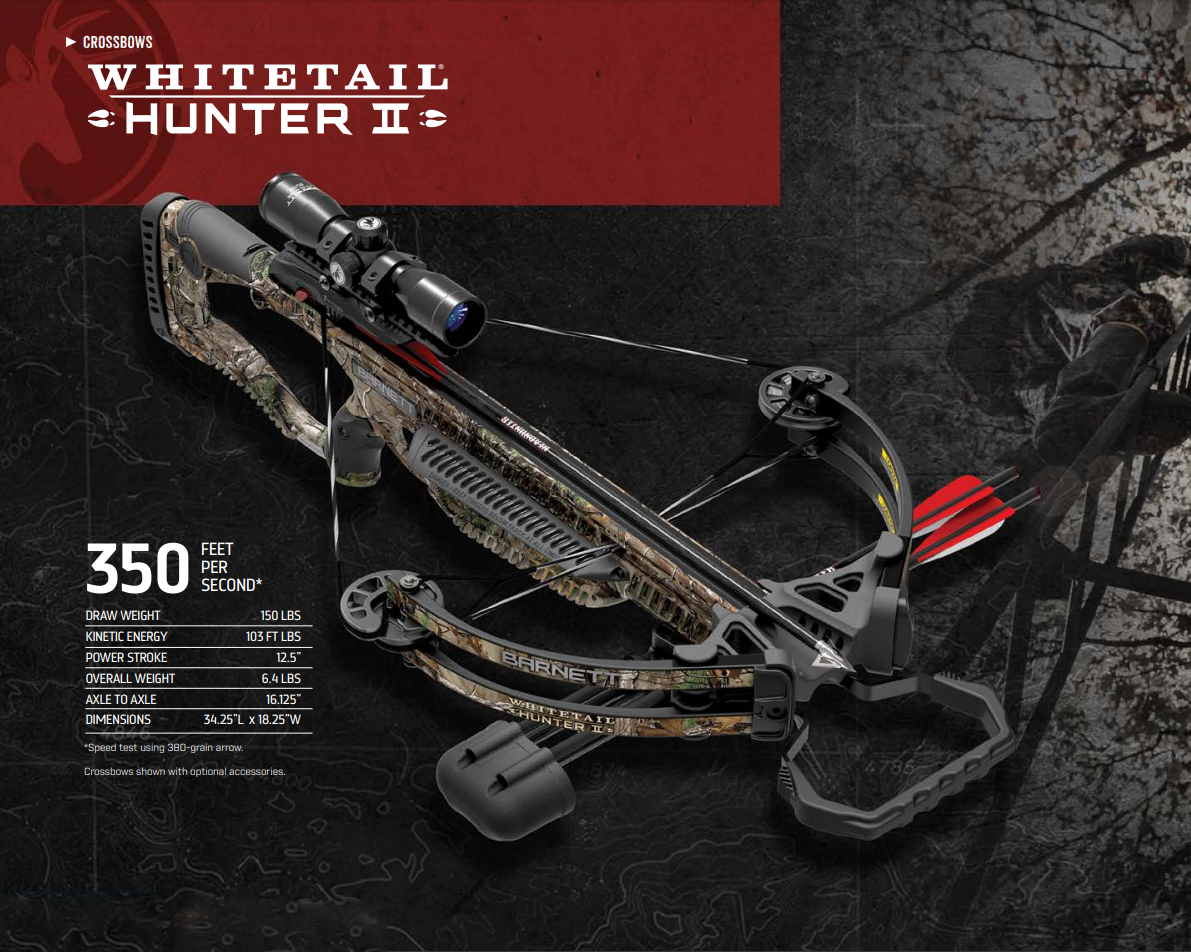 Barnett crossbow 350fps