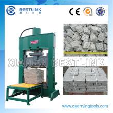 Bloque hidráulico divisor de piedra máquina para cúbico de pavimentación encimeras
