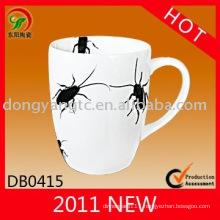 Factory direct wholesale porcelain animal shaped mugs