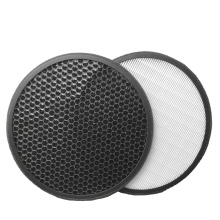 Customizable air purifier filter H11 H12 H13 H14 Round HEPA filters h10