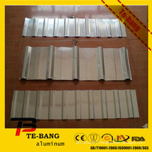 Supply pure or color coated High Quality corrugated aluminum sheet roofing for roof and wall with ISO certificated