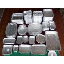 Papel de aluminio de contenedor para caja de almuerzo