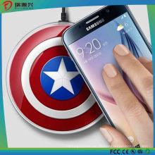 Cargador inalámbrico Pad Qi Avenger para Samsung