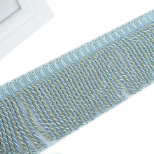 Accesorios para cortinas de sofá Borla de flecos de cuerda trenzada