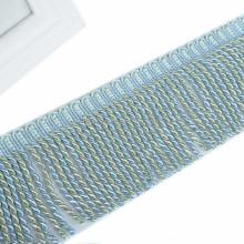 Acessórios para cortina de sofá borla com franja em corda trançada