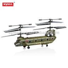 SYMA S026G infravermelho metal palma tamanho rc chinook helicóptero