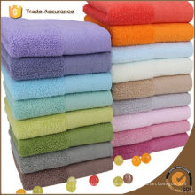 bamboo cotton solid colour face towel home use
