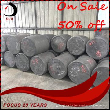 On Sale High Quality Diameter 620mm Isostatic Graphite Round Block