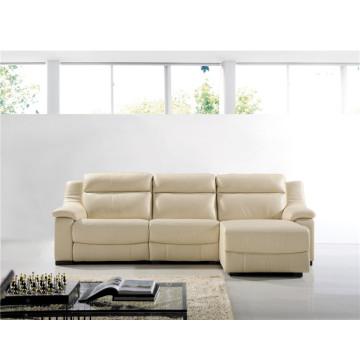 Sofá elétrico reclinável EUA L & P sofá do mecanismo para baixo do sofá (729 #)