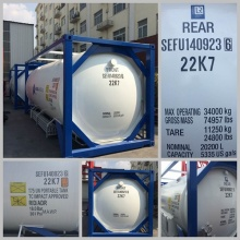2015 New ISO Standard T50 Transport Tank Container