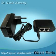 China fornecedor IEEE802.3af porta única 15.4 W poe injector 12 v entrada