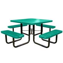 Углеродистая сталь обеденный стол с 4 местный