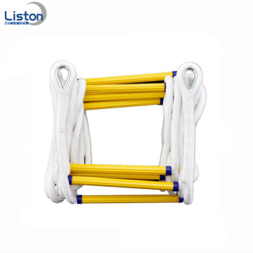 Keselamatan lipat nilon Fire Escape Rope Ladders