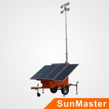 Mobiler Solar Light Tower
