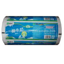 Embalagem de plástico para embalagens de leite / iogurte