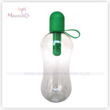 550ml Sport Transparent Water Bottle with Filter