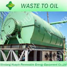 2014 отходов шин/резиновые завод по переработке сырой нефти, мазута