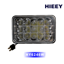 """4*6"""" Super bright led headlight for truck offroad with high beam and low beam"""