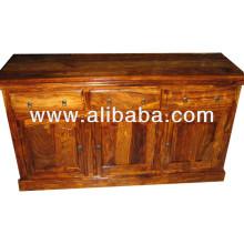 Aparador de madeira sheesham