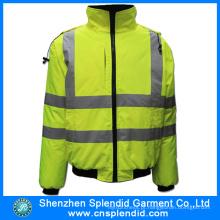 Vestuário de trabalho Inverno Outdoor Vestuário de alta visibilidade Casacos