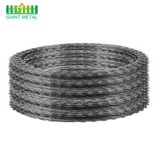 Stainless Steel Galvanized Concertina Coil Razor Barbed Wire