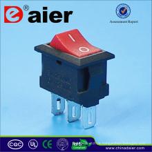 Interruptor de 3 pinos ON-ON Mini Rocker
