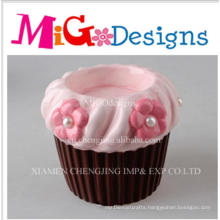 Wholesale Pottery Home Use Cupcake Candle Holder