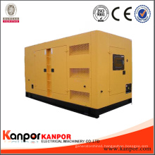 Silent Type 3 Phase Water Cooled 750kVA Diesel Generator Brand Engine