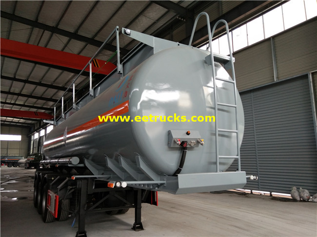25 CBM Nitric Acid Tank Trailers