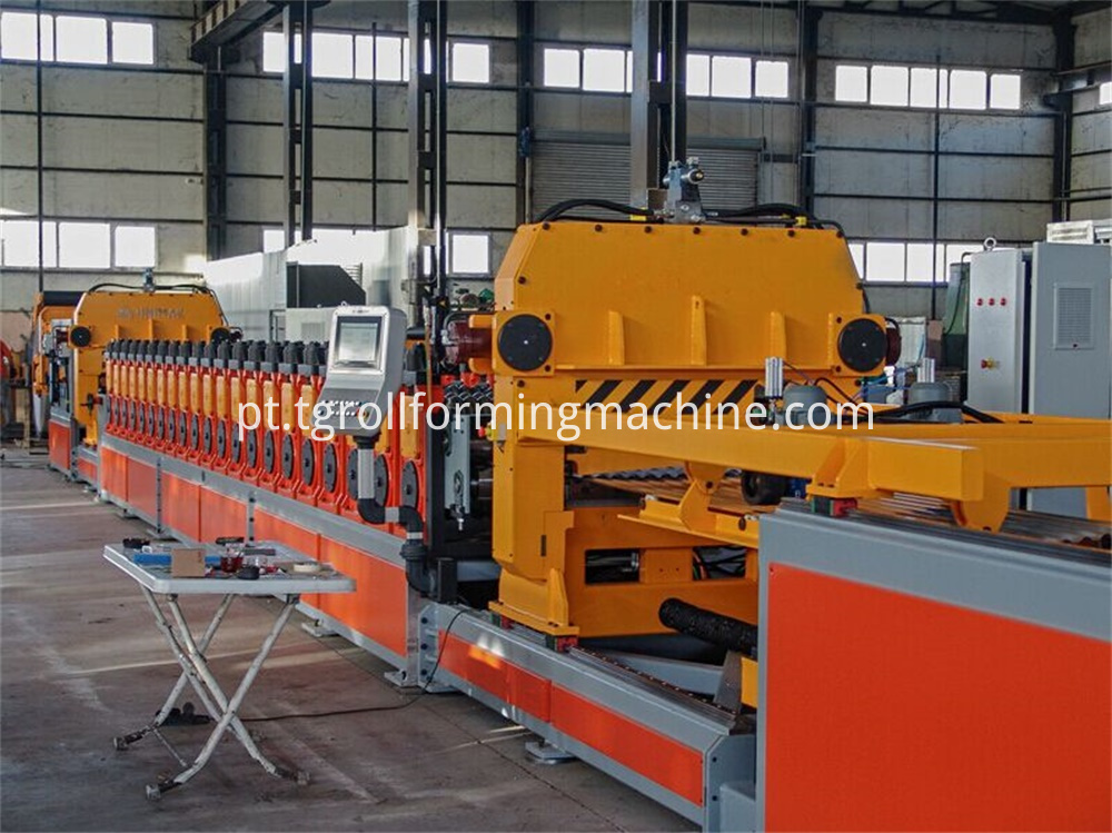 Grain Bin Sidewall Forming Machine