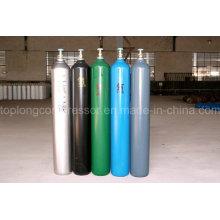 150bar / 200bar Acier sans soudure haute pression Acier oxygène Nitrogène Hydrogène Argon Hélium CO2 Gaz Cylindre CNG Cylindre