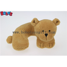 3D Neck Rest Pillow Baby Kids Car Seat Plush Soft Toy Travel Bear