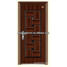 Durable safety steel door design KKD-544 With CE,BV,TUV,SONCAP