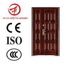 Puerta de madera principal del metal del color