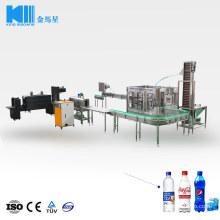 Sparking Soda Gas Water Beverage Plant Line Carbonated Soft Drink Filling Machine