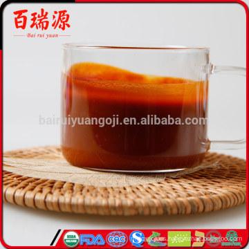 Súper alimento goji berry jugo goji berry juice ber goji powder