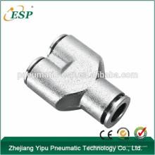 ESP union Y forme connecteur pneumatique raccords métalliques pneumatique tuyau accessoires