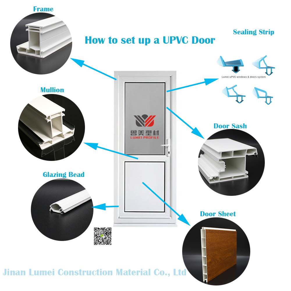 How to set up a UPVC Door