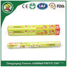 Fabricación de papel de aluminio de la materia prima para la comida de cocina del hogar